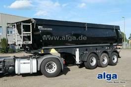tipper semi trailer Meiller MHPS 12/27, Stahl 27 m³./BPW/Liftachse 2016