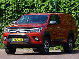 pickup lcv Toyota Hilux 4x4 NAVI CAMERA LMV ECC Verhoogd Hardtop Trhk 2019