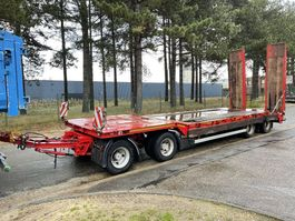 lowloader semi trailer Nooteboom 50 Tons DIEPLADER - 4 ASSER - HYDR. RAMPEN - BLADVERING - VERBREDERS (3m) - BELGISCHE PAPIEREN / 4 ESS - RAMPES - SUSP. LAMES - PAPIERS BELGES 2002
