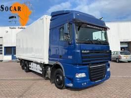 box truck DAF XF 105 FTR 6x2 retarder 2010