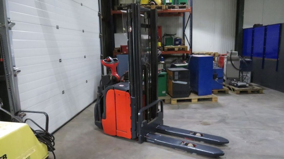 Gabelstapler Linde l14ap staplaar elektrische met dubelehefing 2014