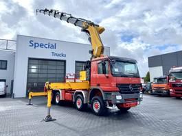 crane truck Mercedes-Benz Actros 4151 8x8 V8 + Fassi F1500 AXP.28 2007