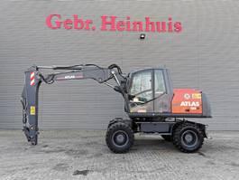 wheeled excavator Terex Atlas 150W Verstellausleger! 2011