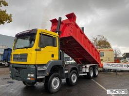 tipper truck MAN 41.413 8x8 - Manual - Mech pump - Big axles 2004