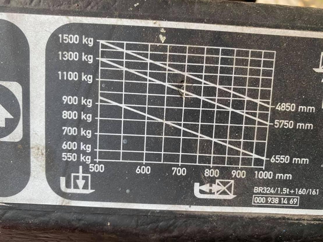 Gabelstapler Linde E16 Elektrische heftruck