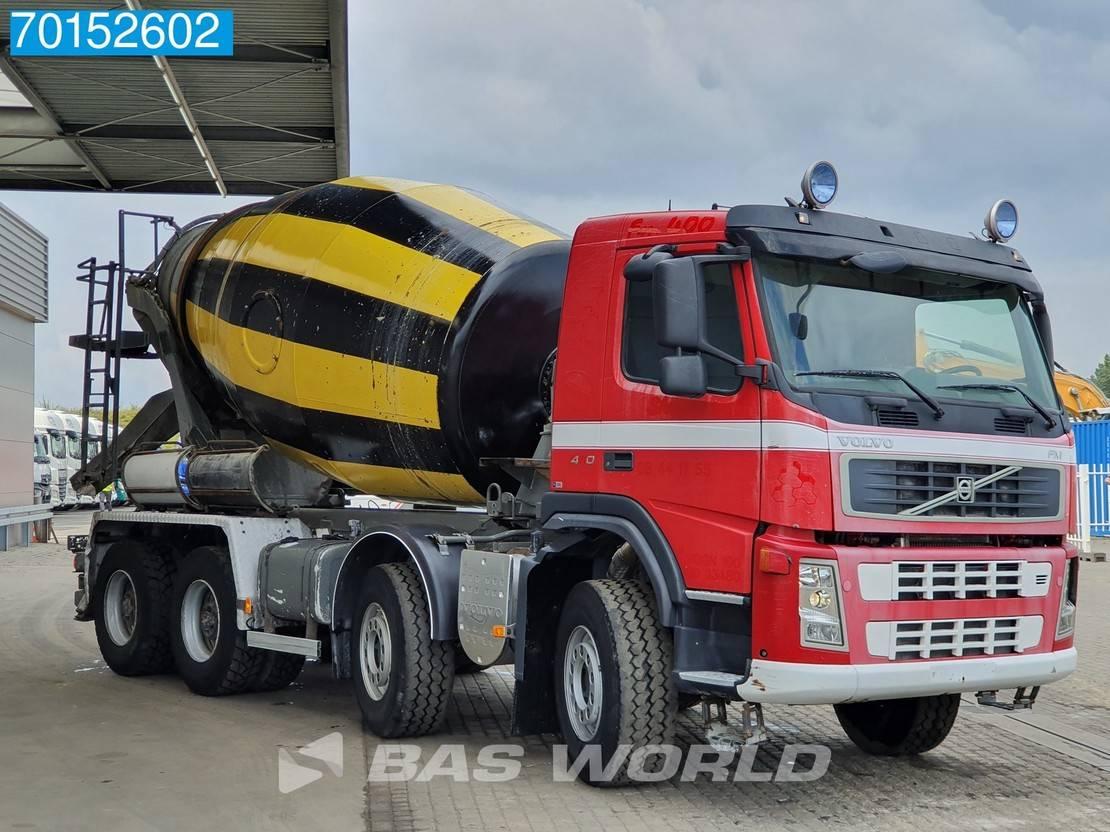 Betonmischer-LKW Volvo FM 400 8X4 VEB+ Big-Axle Steelsuspension Euro 4 2007