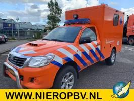 ambulance lcv Toyota HILUX 4X4 AIRCO 18000KM AMBULANCE 2016