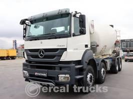 Betonmischer-LKW Mercedes-Benz 2012 AXOR 4140 EURO5 8X4 CONCRETE MIXER 9 UNIT 2012