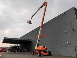 articulated boom lift wheeled JLG 1250 AJP - 40 meter - 1945 Hours - 4x4x4 - Topcondition! 2014