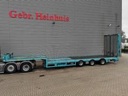 semi lowloader semi trailer Broshuis 3 AOU-18-36SL - 6.4 M Extand.- Ramps - 12 Tons SLairaxles - Radio Remote! 2016