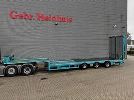 semi lowloader semi trailer Goldhofer 3 AOU-18-36SL - 6.4 M Extand.- Ramps - 12 Tons SLairaxles - Radio Remote! 2016