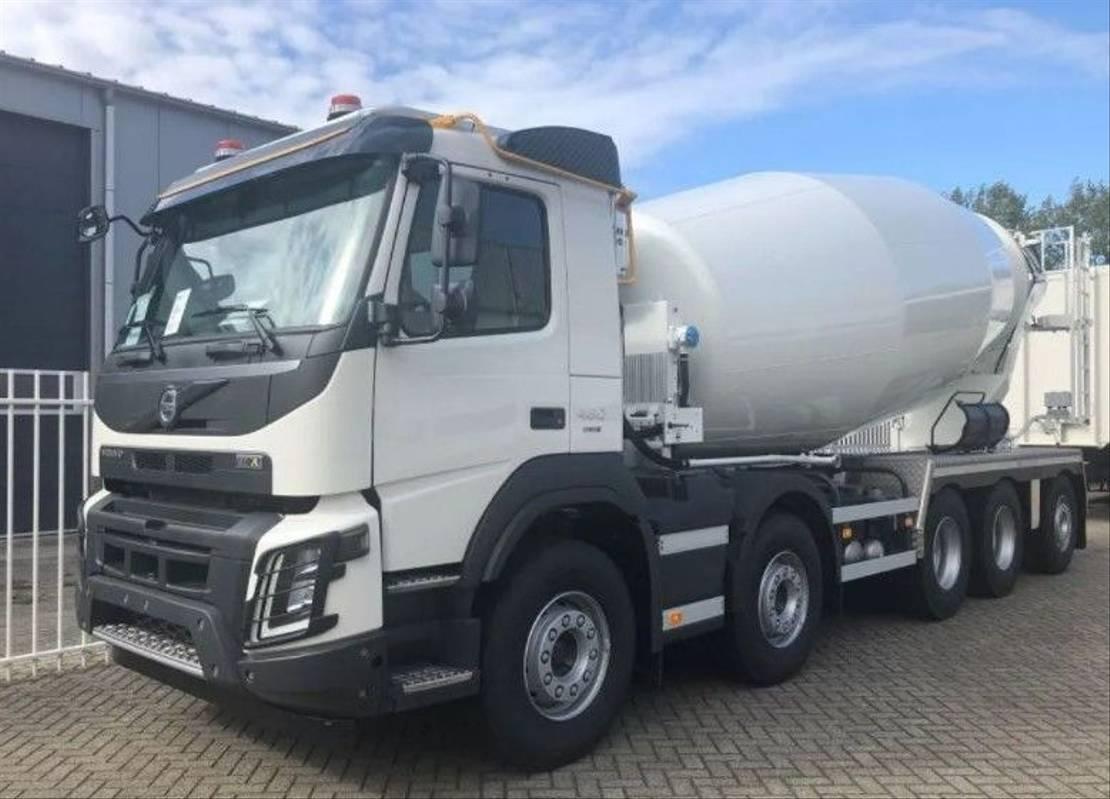 Betonmischer-LKW Volvo FMX 460 10x4 Concrete Mixer - Wierda Hybrid - Euro 6 - NEW
