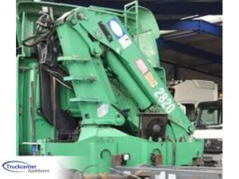 Crane truck part HMF 2820 K3 + Rotator 2006