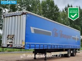 sliding curtain semi trailer Krone SZ 2 axles City-Trailer Lift+Lenkachse Ladebordwand (LBW) 2012