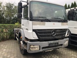 chassis cab truck Mercedes-Benz Axor 1823 - Full steelsus. - Manual 2005