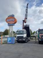container truck Mercedes-Benz Arocs 4142 - K 8x4 Autom./Klima/eFH./Radio 2021