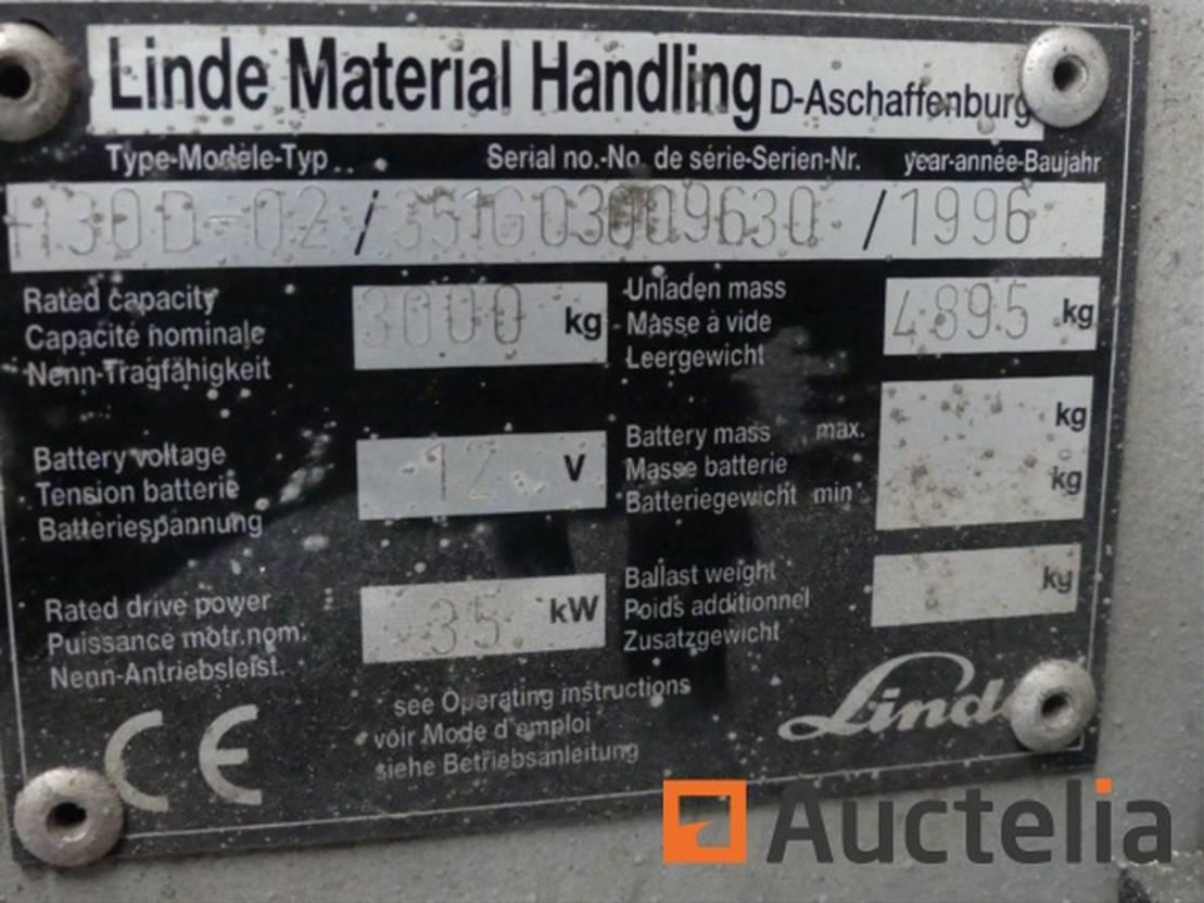Gabelstapler Linde H30D 1996