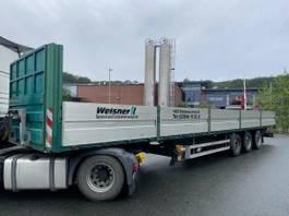 swap body trailer semi trailer KAESSBOHRER Plateau- SAF- 2x LIFTACHSE. Rungentaschen 2007