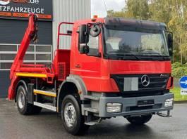 container truck Mercedes-Benz Axor 1833 Meiller Absetzer Waage Blatt/Blatt 2007
