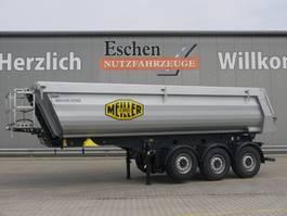 tipper semi trailer Meiller MHPS 44.3, 26m³ Stahl, Luft/Lift 2021