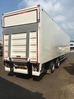 closed box semi trailer Samro SD33WHRE 2 As Oplegger Gesloten, OH-93-XG 2005
