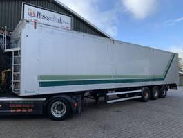 walking floor semi trailer Kraker Bulthuis 92m3 Cargo Floor 10MM, BPW 2000