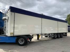 walking floor semi trailer Kraker K-Force 92m3 Cargo Floor 10MM Stuuras/Lenkachse NEW-NEU 2021