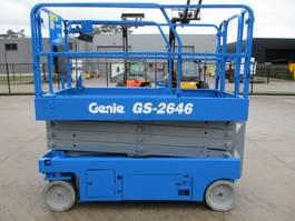 scissor lift wheeld Genie GS 2646 (284) 2014
