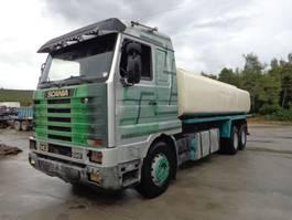 tank truck Scania R143 SCANIA 143.500 (6X2) 20.500 LITERS TANK 1993