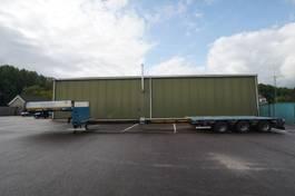 semi lowloader semi trailer Goldhofer 3 AXLE SEMI LOW LOADER 670CM EXTENDABLE 2013