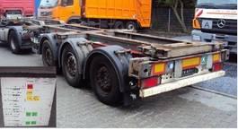 container chassis semi trailer Schmitz Cargobull 3Achs Container 20' 30' 40' 45' Lift Ausziehbar Slider 2012