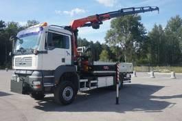 crane truck MAN TGA 18 4x4 Palfinger PK 20002 Crane 2003