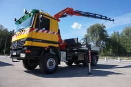 crane truck Mercedes-Benz Actros 3348 6x6 Palfinger PK 35000 Crane 2003