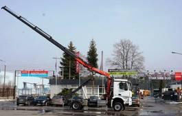 crane truck Mercedes-Benz 4x4 1836 FASSI 165 NCH EURO 6 CRAN KRAN 2016