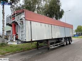 tipper semi trailer Benalu kipper 66 M3, Steel Suspension 1991