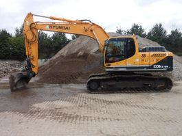 crawler excavator Hyundai Robex 220 LC-9a 2014