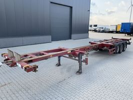container chassis semi trailer Broshuis 45FT HC multi, SAF+Disc, 2x liftaxle, 2x extendable, NL-trailer 2007