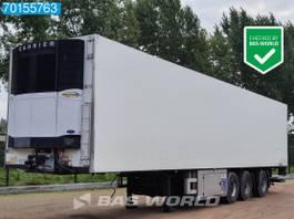 refrigerated semi trailer Van Eck UT-3BI 3 axles Ladebordwand Lenkachse NL-Trailer 2006