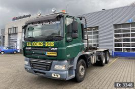 chassis cab truck DAF CF 85 Day Cab, Euro 4, // Manual gearbox // Full steel // Big axle // Hub redu... 2007