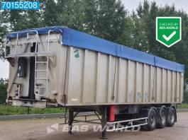 tipper semi trailer Benalu AluKipper 3 axles 50m3 Alukipper Blatt-Federung 1999