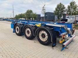 container chassis semi trailer D-TEC Trailer CC-20-3-T 2020