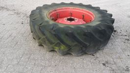 Wheels- with tire set truck part Continental 18.4/15 R34