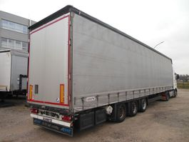 sliding curtain semi trailer Schmitz Cargobull Cargobull SCS 24/L, LOWDECK, MEGA, LIFT ACHSE 2016