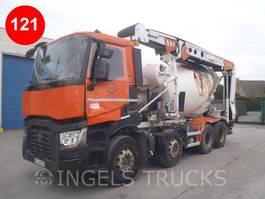 concrete mixer truck Renault C380 XLOAD SHORT CAB 2018