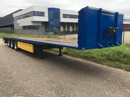 flatbed semi trailer Pacton LXD.339 3 As Oplegger Open OH-20-YB 2005