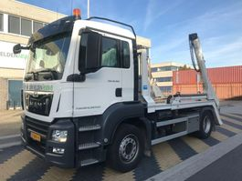 Container-LKW MAN 4x2 BL Portaalarm 14 ton 2018