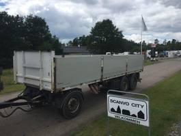 flatbed semi trailer Kel-Berg 7,75 mtr - 1000 mm alu sider 2016
