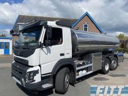 tank truck Volvo FMX 460 FMX460-6X4 HYDRODRIVE 16000L RVS ISO tank. 2 comp 2015