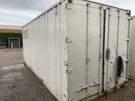 dry standard shipping container 20ft container met stelling en werkbank