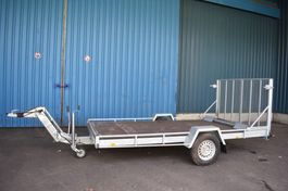 flatbed car trailer chassis aanhanger